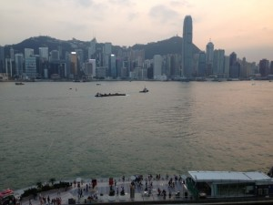 Hong-Kong, view from the Concert Hall